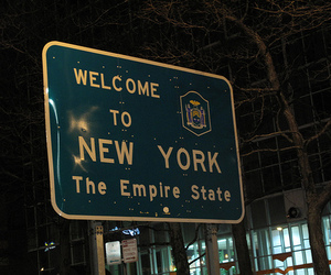new york, city, and empire state image