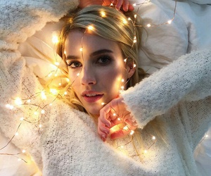 emma roberts, light, and blonde image