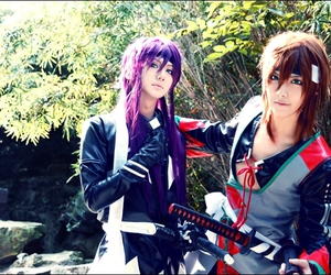 cosplay, hakuouki, and okita souji image