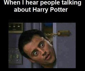 harry potter, funny, and friends image