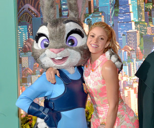 shakira and zootopia image