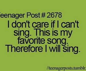 sing, song, and quote image