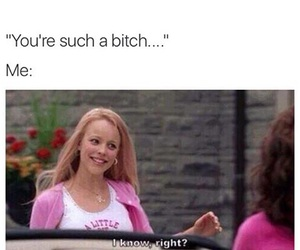 mean girls, regina george, and funny image