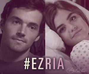 ezria, pretty little liars, and pll image