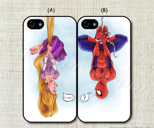 rapunzel and spiderman image