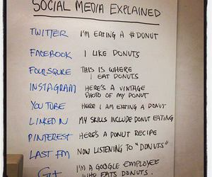 donuts, funny, and cute image