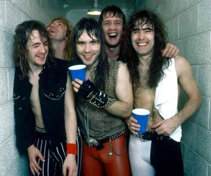 iron maiden, Bruce Dickinson, and Adrian Smith image
