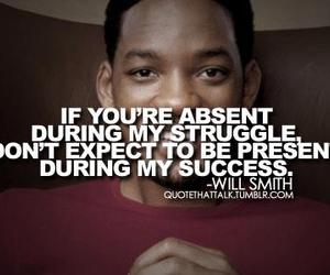 quotes, will smith, and success image
