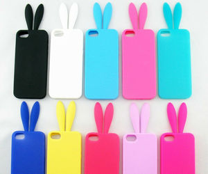 case, iphone, and bunny image