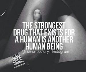 addiction, drug, and quote image