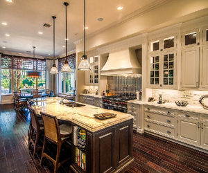 home, interior, and kitchen image