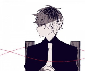 anime, kaneki ken, and anime boy image