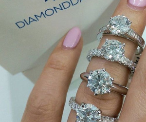 bling, rings, and gorgeus image