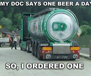 beer, funny, and humor image