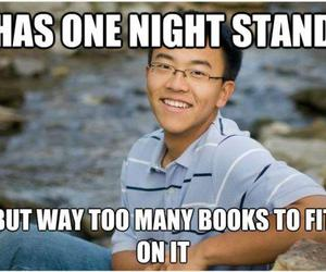 funny, books, and asian image