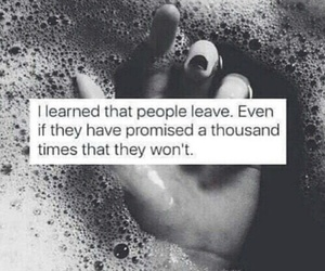 quotes, sad, and promise image