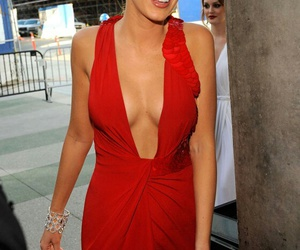 blake lively and red dress image
