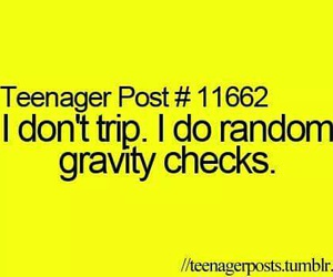 gravity and teenager post image