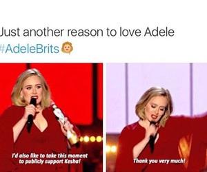 Adele, kesha, and sony image