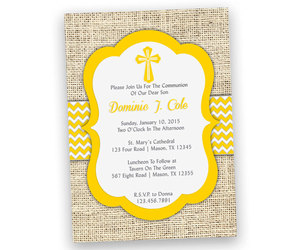 etsy, yellow and grey, and boy baptism image