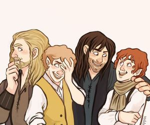 LOTR, merry, and the hobbit image