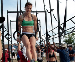 fitness, muscles, and crossfit image