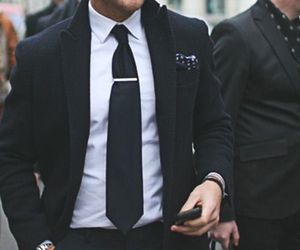 suit, man, and men image