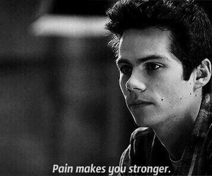 teen wolf, pain, and strong image