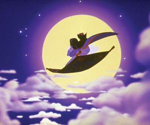 aladdin, disney, and jasmine image