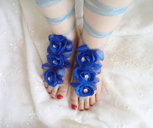 bridal, sandals, and weddings image