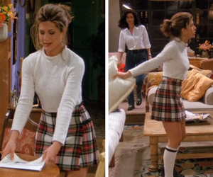 friends, rachel green, and outfit image