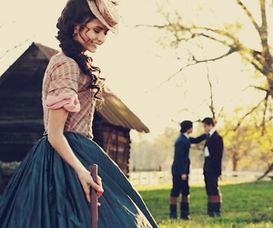 the vampire diaries, katherine pierce, and Nina Dobrev image