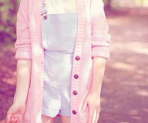 pink, kawaii, and outfit image