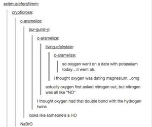 chemistry, funny, and jokes image