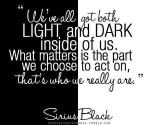 harry potter, quotes, and sirius black image