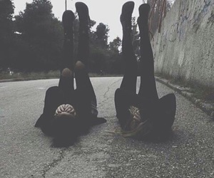 grunge, black, and friends image