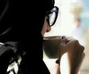 arab, girl, and job image
