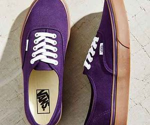 shoes, vans, and purple image