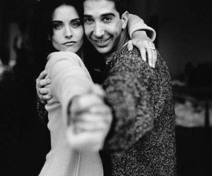 friends, ross, and monica image