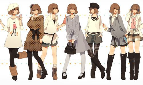 119 Images About Anime Girl Outfits On We Heart It