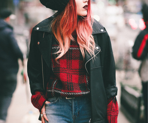 fashion, grunge, and grunge outfit image