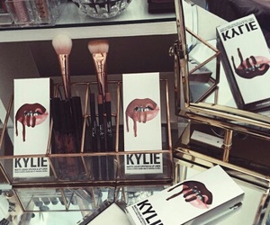 cosmetics, makeup, and kylie image