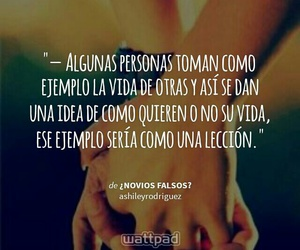 frases, wattpad, and ejemplo image