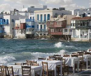 amazing, blue, and Greece image