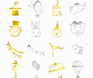 circus, magic, and pattern image