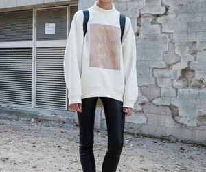 fashion, model, and outfit image