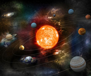 planets, astronomy, and solar system image