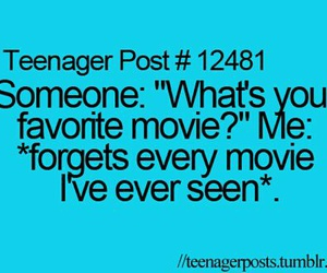 funny, teenager post, and forget image