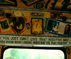 bob marley, positive, and negative image