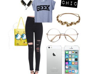 basic, casual, and geek image